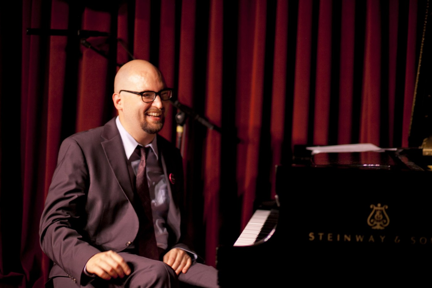 Ethan Iverson at the Village Vanguard