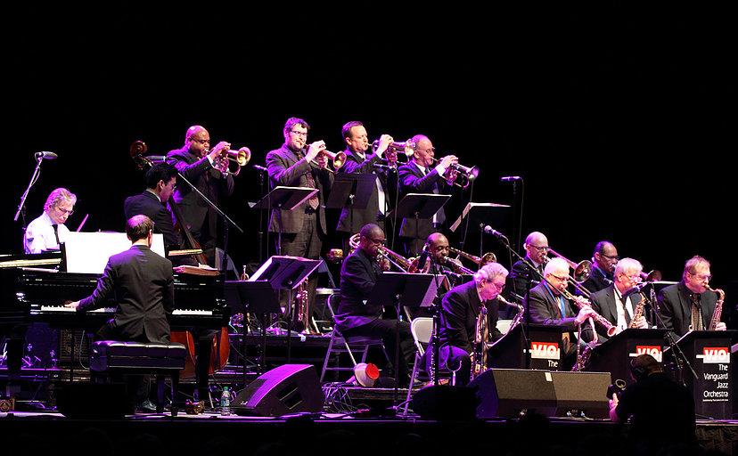 Vanguard Jazz Orchestra Live