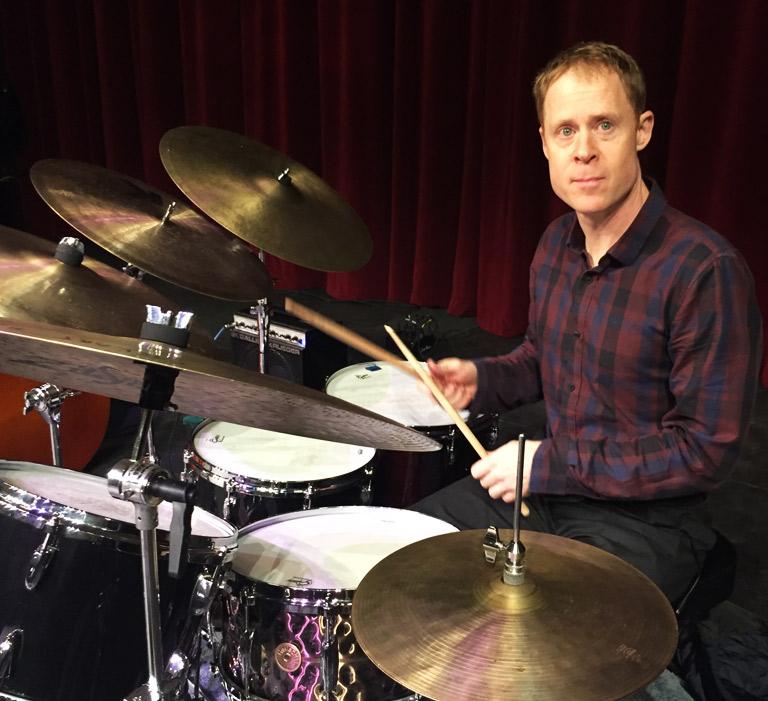 Bill Stewart Gretsch Drums